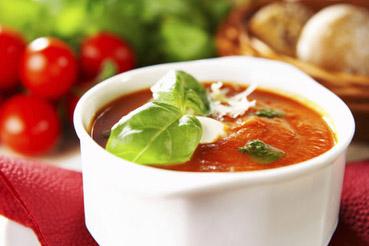 Zupa pomidorowa z szynką