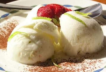 Lody cytrynowo-jogurtowe
