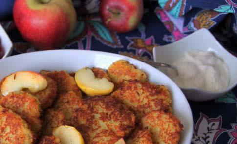 Placki ziemniaczane z jabłkami