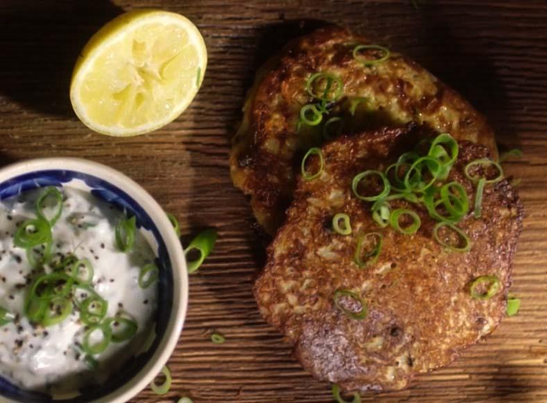 Tradycyjne ziemniaczane bliny – placki ziemniaczane z grzybami